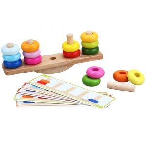 Wooden Balancing Stacking Game