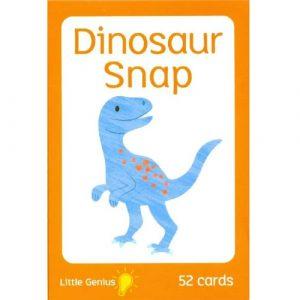 little genius dinosaur snap cards