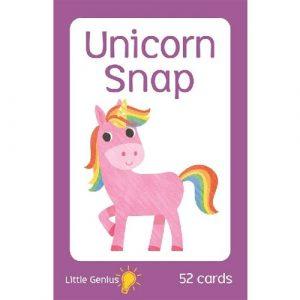 little genius unicorn snap cards