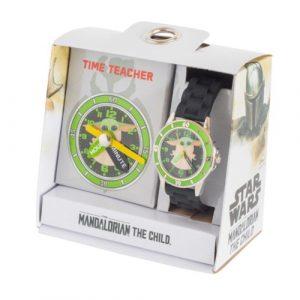 star wars mandalorian Time Teacher Watch