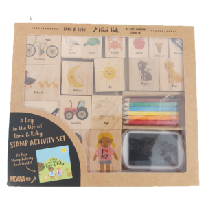 A Day In The Life Of Tane and Ruby Stamp Kit