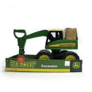 John Deere 38CM BIG SCOOP green excavator boxed