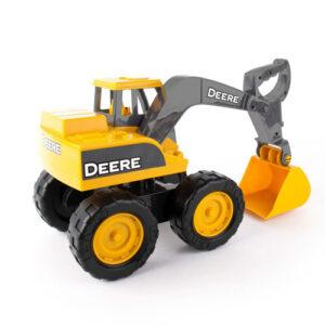John Deere 38CM BIG SCOOP yellow excavator