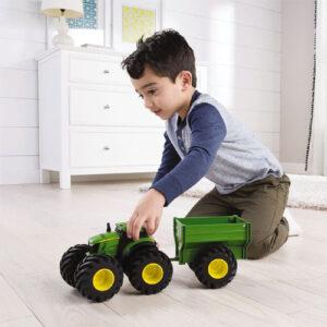 John Deere Monster Treads Tractor & Trailer
