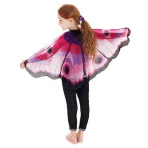 Pink & Purple butterfly wings