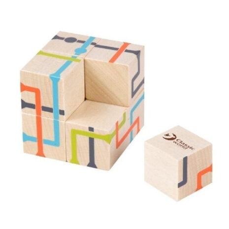 Wooden Intelligent Track Blocks