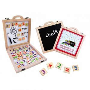 Wooden Magnetic Activity Case