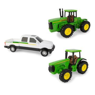 John Deere 3pc Vehicle Gift Set