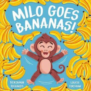 Milo Goes Bananas Book & Puppet Combo
